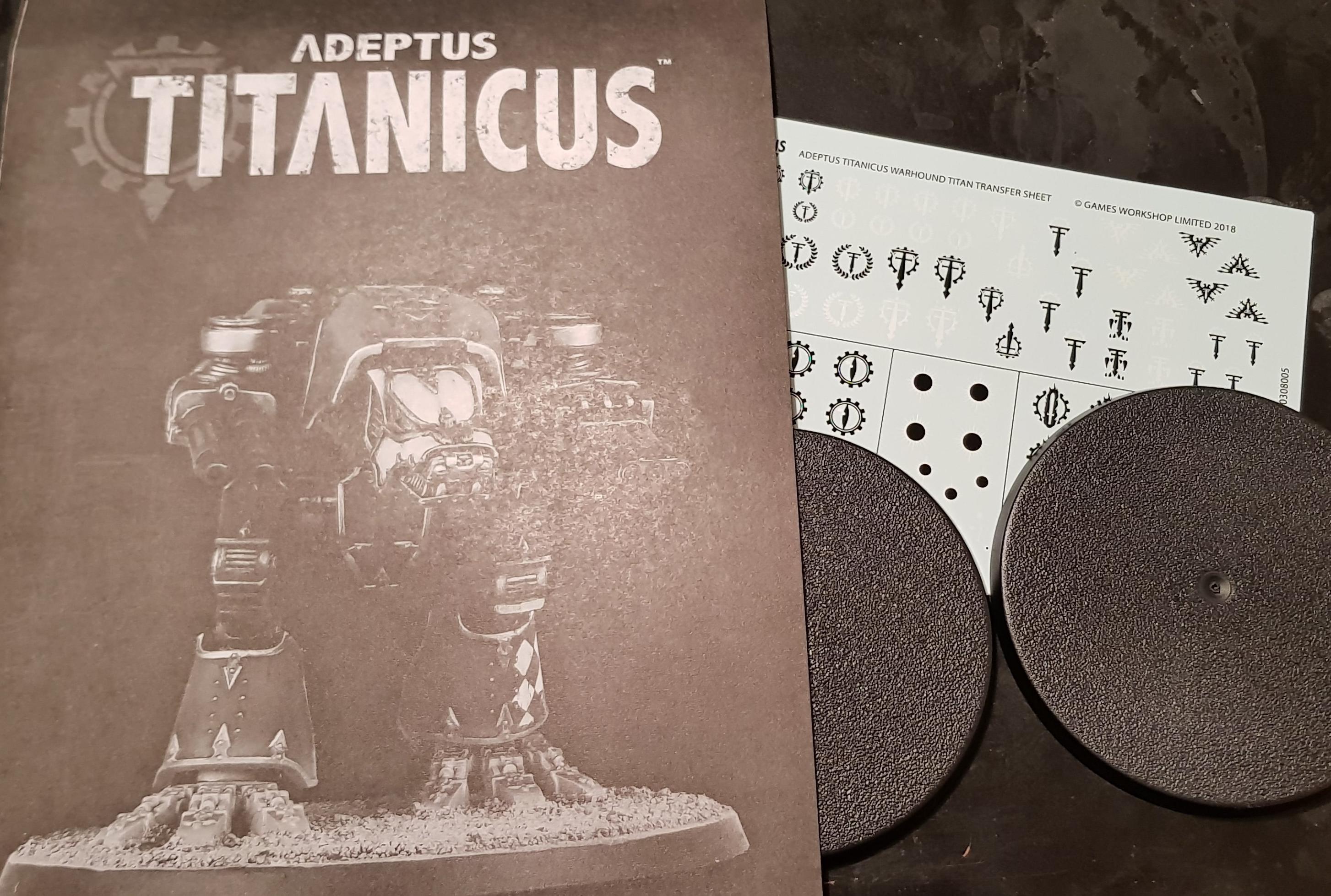 Adeptus Titanicus – The Wargaming Bear