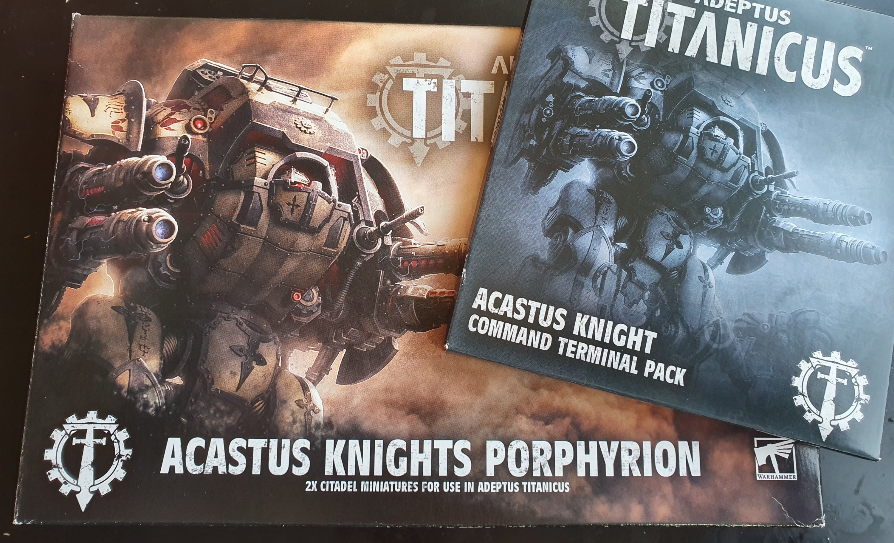 Adeptus Titanicus Acastus Knight Porphyrion – Review – The